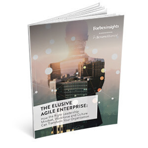 The Elusive Agile Enterprise, a Forbes Insights & Scrum Alliance Report